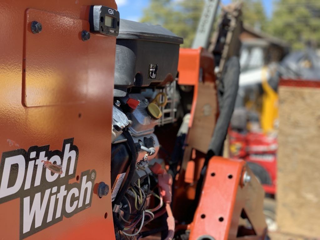 Ditch Witch Walk Behind Trencher